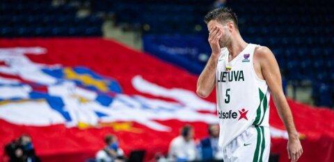 Häbi vol 2! Leedu korvpallikoondis kaotas kodus Taanile