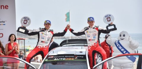 VÕIMAS   WRC-sarja liidrid Ott Tänak ja Martin Järveoja tulevad Rally Estoniale võitu kaitsma