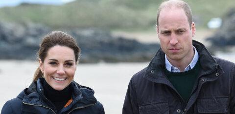 KLÕPS   Nii suured juba! Kate Middleton ja prints William jagasid lastest imearmsaid pilte