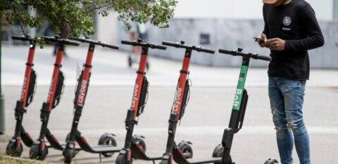 Adaptiivne piirkiirus, uued parkimisviisid - Tallinn tahab e-tõuksidega läbi viia mitu olulist muudatust