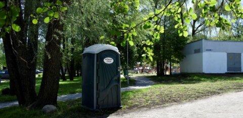 В столичных парках Лёвенру и Ряэгу установлены сезонные биотуалеты