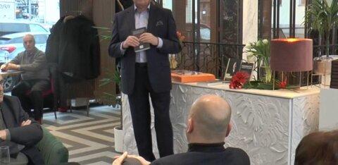 ВИДЕО: Вице-мэр Таллинна представил свою новую книгу