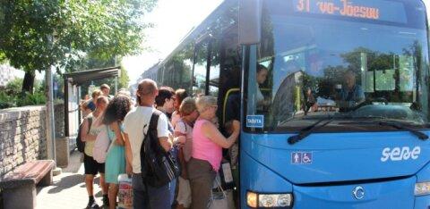 С 1 октября нарвский общественный транспорт переходит на зимнее расписание