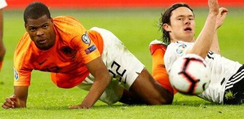 Германия вырвала победу у Голландии на последней минуте