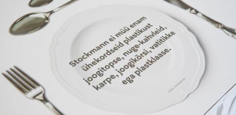 Põhjalik muutus! Stockmann lõpetab ühekordsete plastiktoodete müügi täielikult