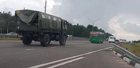 ФОТО И ВИДЕО | Автозаки, водометы, автобусы с силовиками в Минске в день выборов