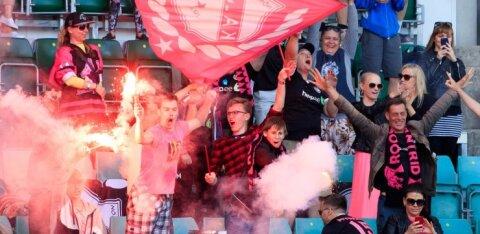 Magusa võidu saanud Kalju kolib suuremale staadionile ja toob nimekast klubist täiendust