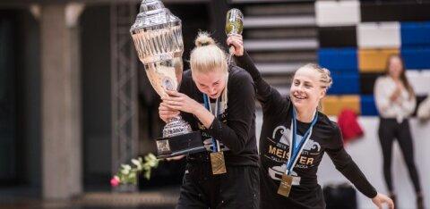 TIPPHETKED JA FOTOD | Tallinna Ülikool tuli Eesti naiste korvpallimeistriks