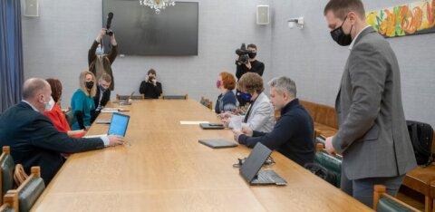 Имена будущих министров и коалиционный договор обнародуют завтра