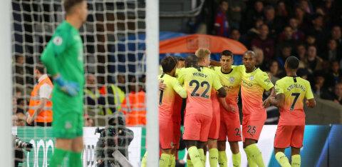 Manchester City vähendas Liverpooliga vahet, Tottenham kaotas taas punkte