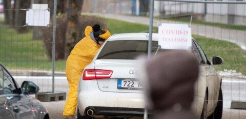 За сутки в Эстонии коронавирус выявили у 390 человек, зарегистрировано 5 смертей