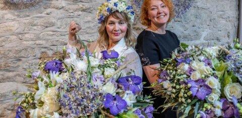 FOTO | Rahvusvaheliselt tunnustatud floristid kinkisid Kaljulaidile ja Kallasele unikaalsed kimbud