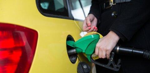 Цены на топливо в столицах стран Балтии: в Таллинне дороже всего