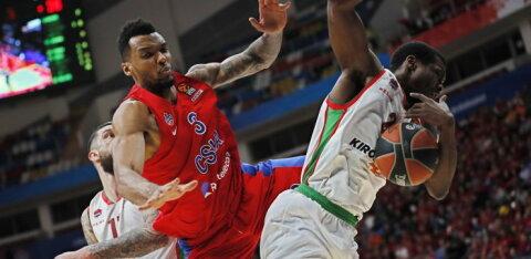 VIDEO | Baskonia alistas võõrsil CSKA, Žalgiris võitis Istanbulis Fenerbahcet!