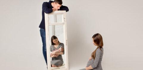 Kodusünnitus oli planeeritud, kuid mitte see, et võtame sünnituse abikaasaga kahekesi vastu