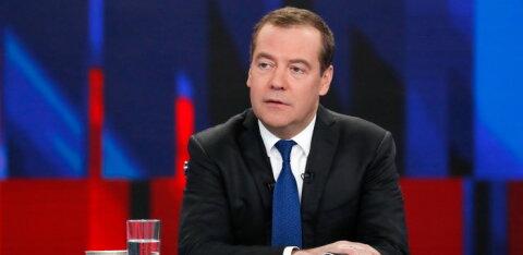 Venemaa peaminister Medvedjev: WADA keeld on Vene-vastase hüsteeria jätk