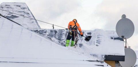 Ettevaatust: saabuv sula paneb lumise katuse vastupidavuse proovile
