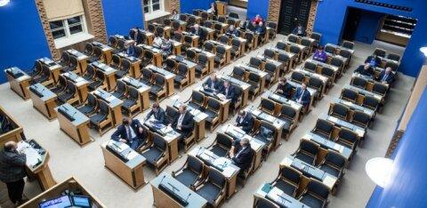В Рийгикогу приняли бюджет на следующий год
