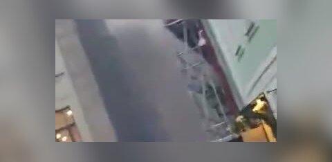 ВИДЕО | В Старом городе горел мусор: два человека оказались в больнице