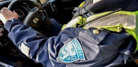 В Ласнамяэ агрессивный мужчина напал на полицейского
