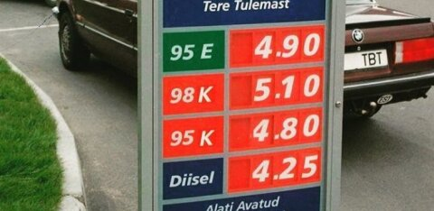 FOTOD | Vaata ja imesta, kui palju maksis kütus Eesti tanklates 90ndatel - liitri hind oli ligi viis korda praegusest soodsam