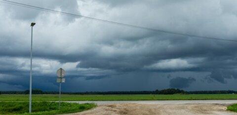 От дождей и гроз до ясного неба. На выходных погода в Эстонии будет переменчивой