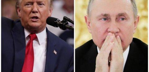 Трамп поздравил президента Эстонии на два дня раньше Путина