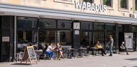 Неожиданно прекратило работу популярное кафе в самом центре Таллинна