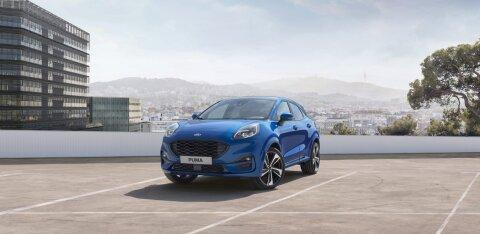 Selline on uus Ford Puma, mida pakutakse ka mahehübriidina
