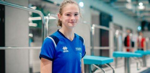 14-летняя Энели Ефимова признана лучшей пловчихой Эстонии