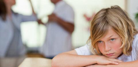Lahkuläinud perede mured   Mida teha, kui laps ütleb, et ei taha oma teise vanema juurde minna?