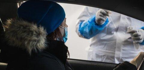 GRAAFIK | Viimase ööpäevaga tuvastati koroonaviirus 618 inimesel. Suri neli inimest, nende seas üks 38-aastane