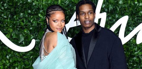 Hiljuti suhte lõpetanud Rihanna on leidnud uue armastuse kurikuulsa räppari ASAP Rockyga: kõik on veel väga uus