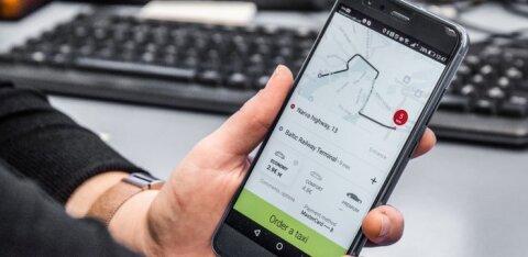 """Издание: """"Яндекс.Такси"""" работает в Эстонии с нарушением закона"""