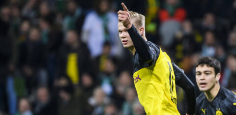 Dortmundi noor väravamasin: pean paremini mängima