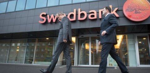 Äikesepilved koonduvad Swedbanki kohale. Kahtlased kliendid olevat pärit Hansapanga aegadest