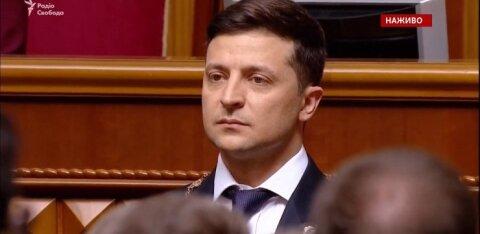 ВИДЕО: Зеленский официально вступил в должность президента Украины. И тут же распустил Раду!