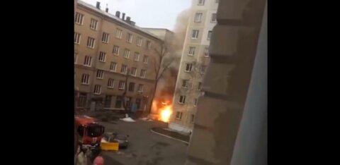 В Челябинске из-за взрыва в больнице эвакуируют пациентов. Там лечат от коронавируса