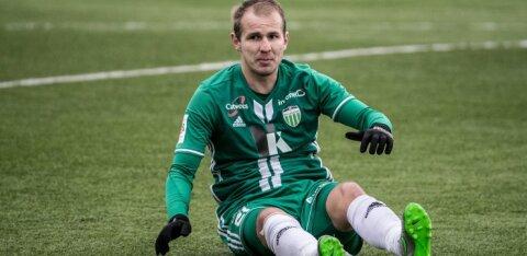 Värskelt Legioniga liitunud Nikita Andrejev lõi Viljandis kaks väravat