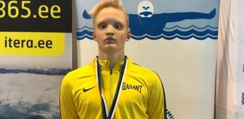 Alan Smok ujus Eesti meistrivõistluste teisel päeval Eesti noorte tippmargi