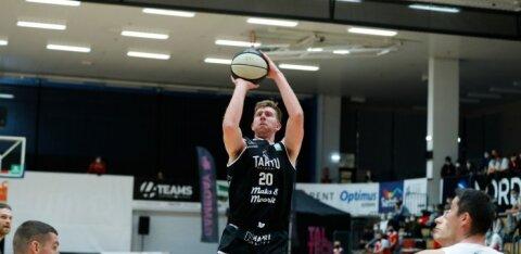 FOTOD | Noor Tartu Ülikooli korvpallimeeskond üllatas võõrsil kogenud TalTechi