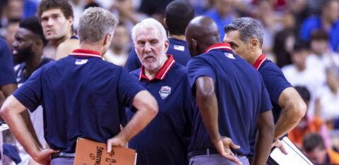 USA peatreener Popovich kritiseeris pärast kaotust ajakirjanikke: selliste küsimustega ei austa te Prantsusmaad ega kedagi teist siin turniiril