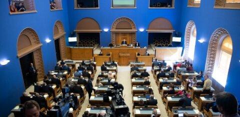 Töösse anti riigikogu uue koosseisu esimene eelnõu