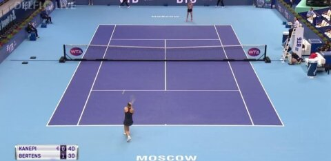 ВИДЕО | Кубок Кремля: Кайа Канепи выбыла из борьбы
