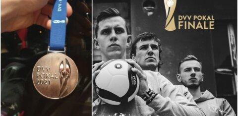 """Karli Alliku uskumatu muinasjutt Saksamaal lõppes finaalis. """"Pettumus. Hea, et sain vähemalt mälestuseks medali."""""""