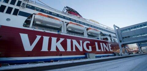 Viking Line увеличил число грузовых рейсов на линии Таллинн - Хельсинки и остановил перевозку пассажиров