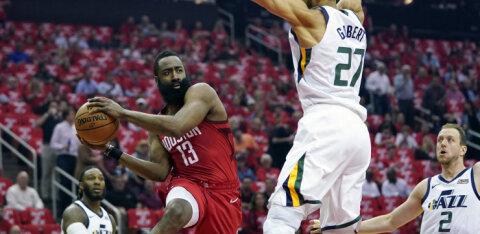 VIDEO   Rockets kukutas Jazzi viie mänguga, Warriors ei suutnud seeriat lõpetada