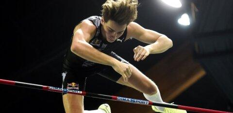 VIDEO | Duplantisel ei õnnestunud maailmarekordite kübaratrikki teha