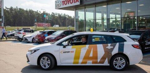 FOTOD | Eesti suurim taksofirma vahetab kogu autopargi alternatiivkütusel sõitvate autode vastu