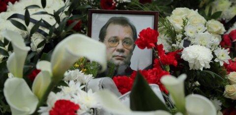 ФОТО и ВИДЕО | В Таллинне похоронили предполагаемого лидера преступного мира Эстонии Олега Львова